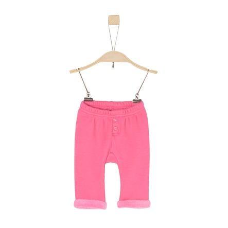 s.Oliver Girls Fleecehose pink