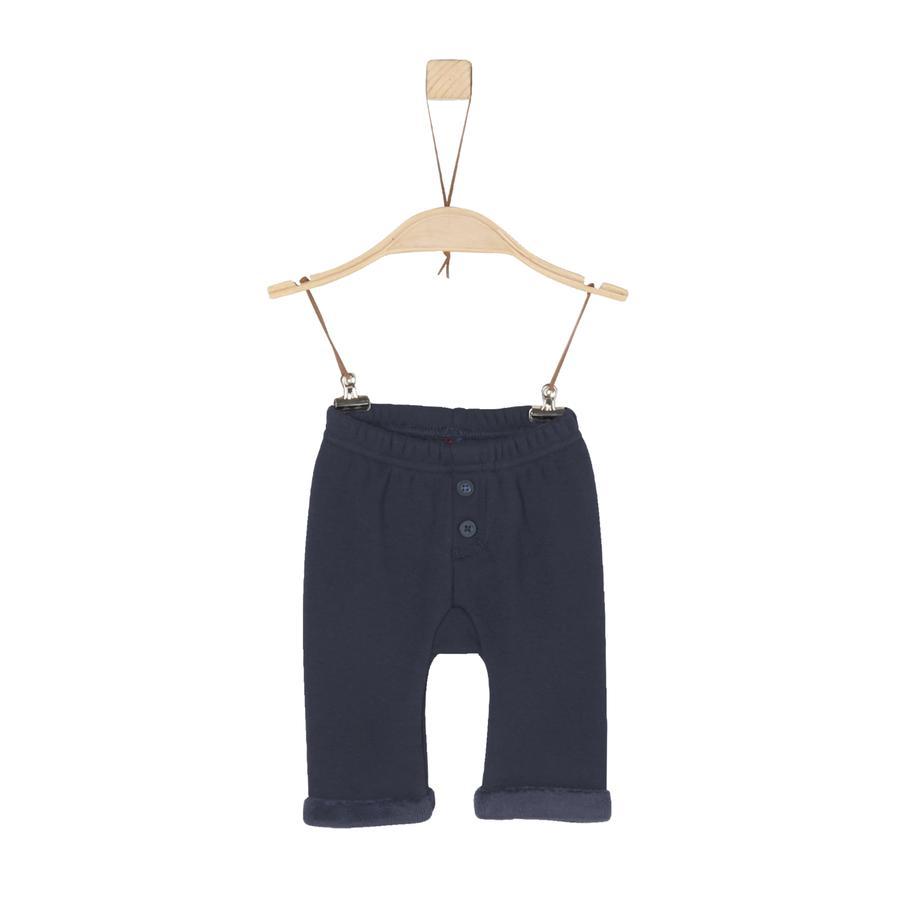 s.Oliver Boys Pantalón de polar azul oscuro