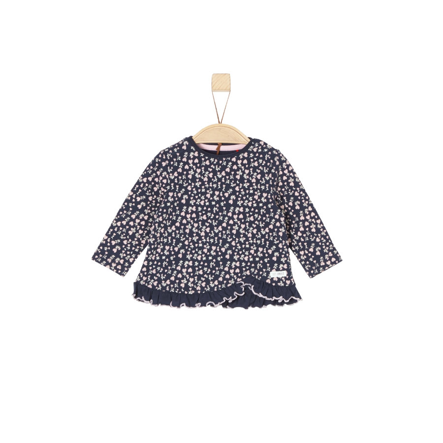 s.Oliver Baby Langarmshirt midnight blue