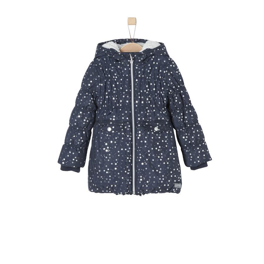 s.Oliver Girl s Abrigo azul oscuro