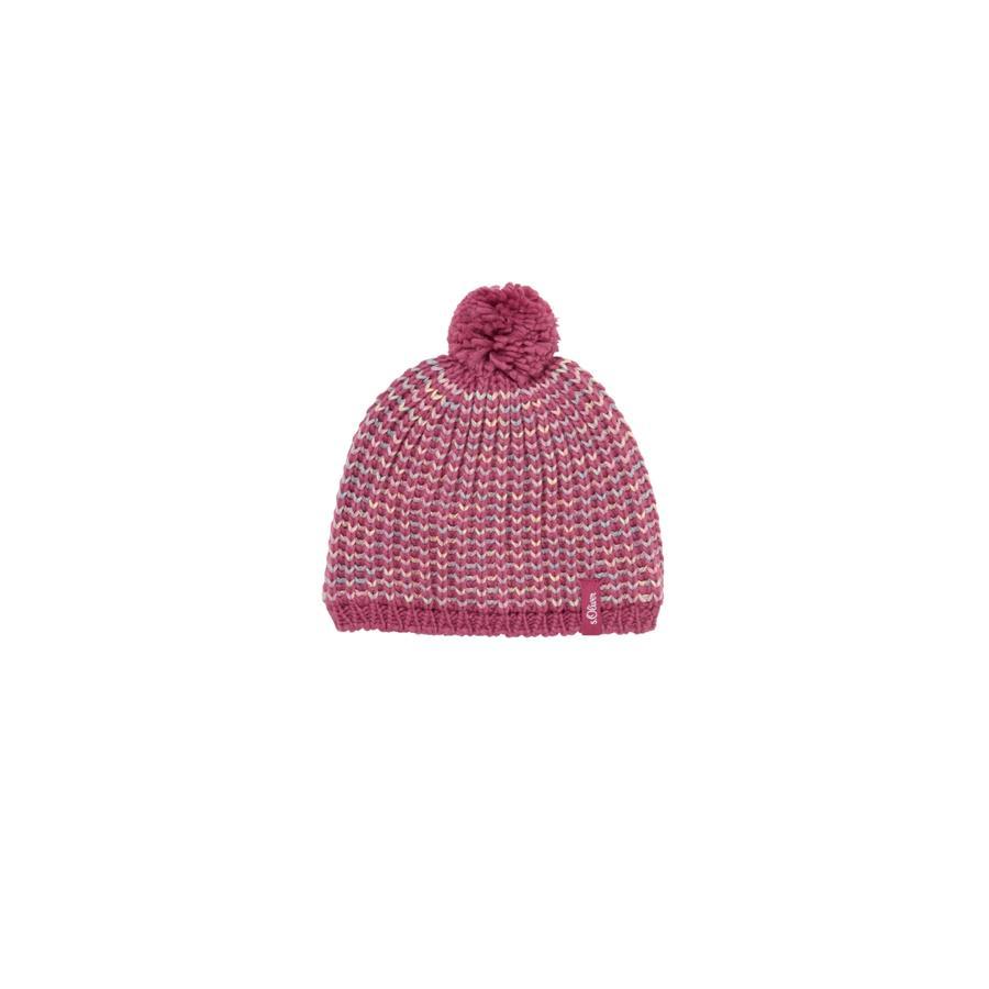 s.Oliver Girl s cap donkerroze