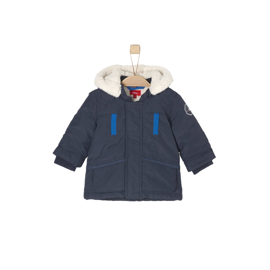 s.Oliver Baby Boys Mantel dark blue