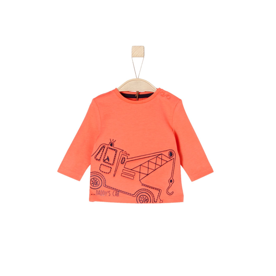 s.Oliver Boys Langarmshirt orange