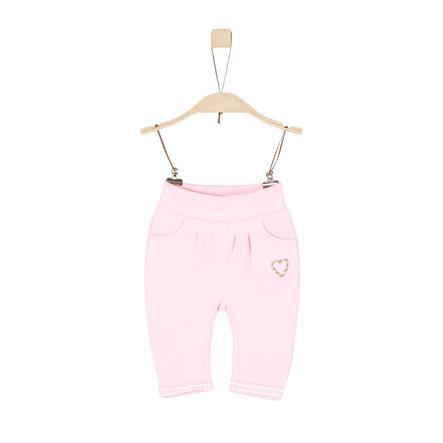 s.Oliver Girl s Pantalone felpa rosa chiaro
