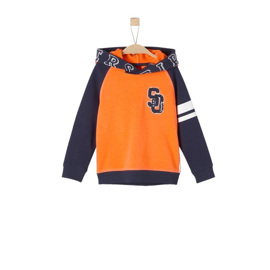 s.Oliver Boys Bluza bluza jasnopomarańczowa