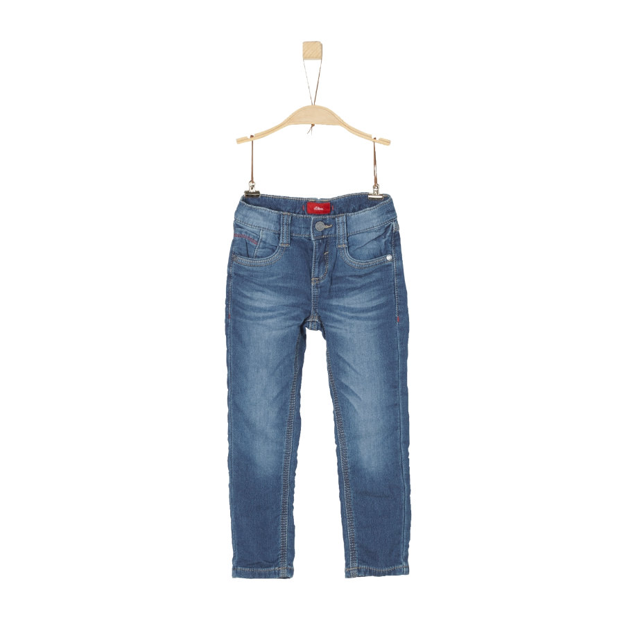 s.Oliver Boys Jeans blue denim stretch
