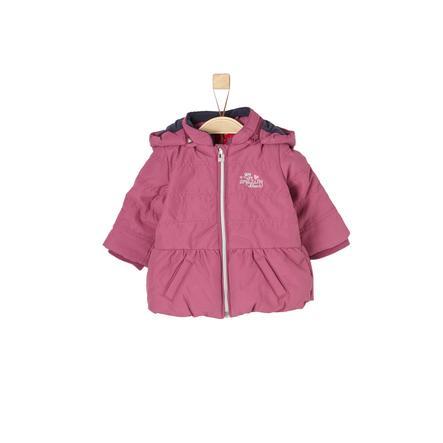 s.Oliver Girl Cappotto rosa scuro