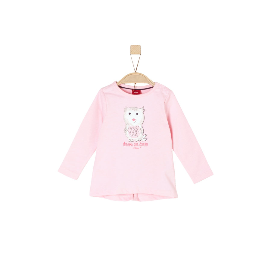 s.Oliver Girls Langærmet shirt light pink