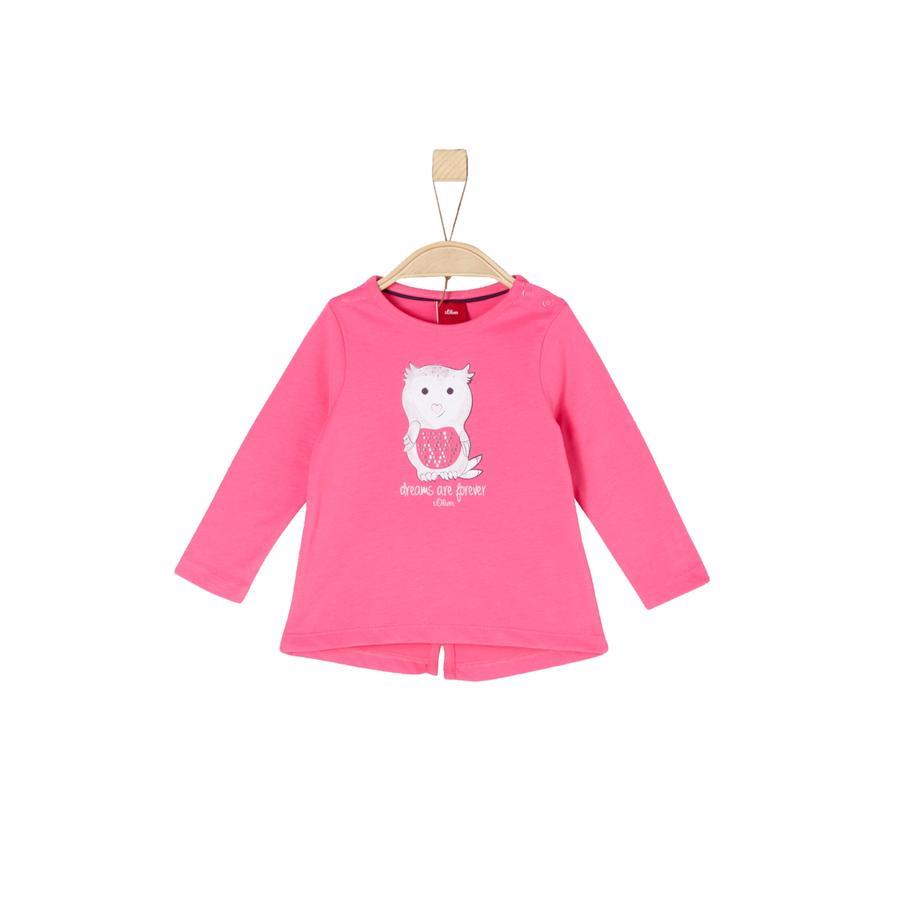 s.Oliver Girls Langærmet shirt pink