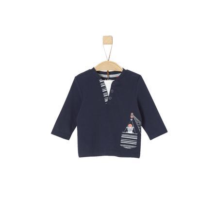 s. Olive r Košile s dlouhým rukávem tmavě modrá