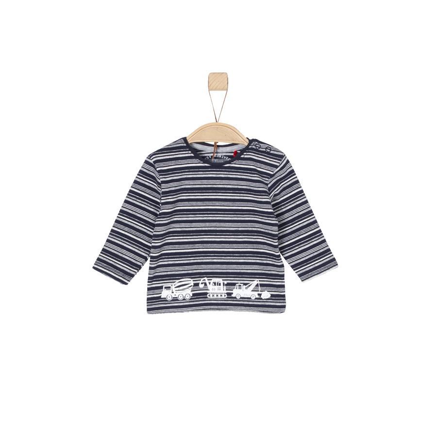 s.Oliver Boys Langarmshirt blue stripes