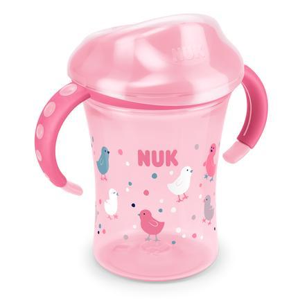 NUK Trinkbecher Easy Learning Training Cup Vögelchen 250 ml ab dem 8. Monat
