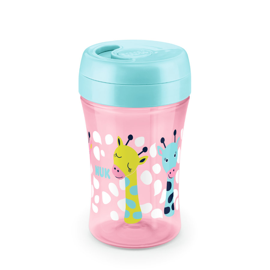NUK Trinkbecher Easy Learning Cup Fun Giraffe 300 ml ab dem 18. Monat