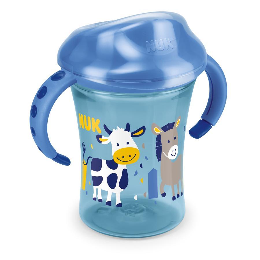 NUK Drinkbeker Easy Learning Training Cup 250 ml, vanaf 8 maanden, design: Koe