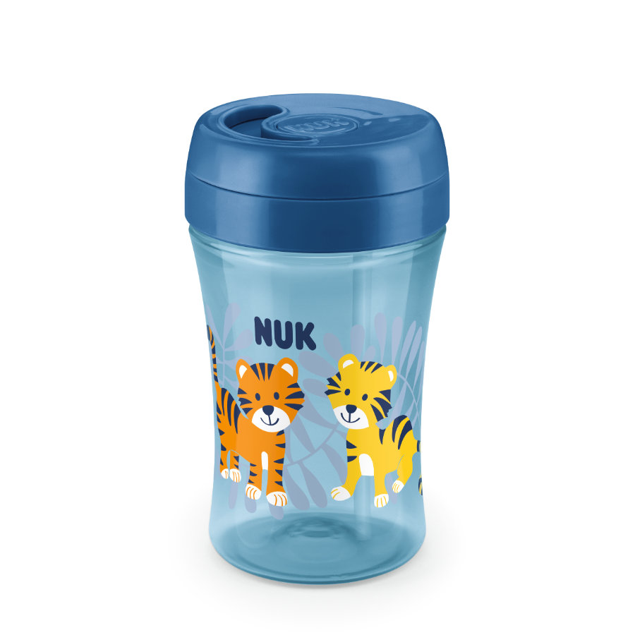 NUK Trinkbecher Easy Learning Cup Fun Tiger 300 ml ab dem 18. Monat