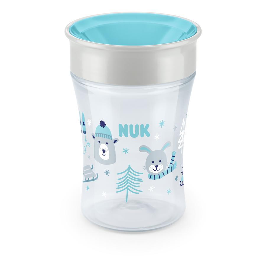 NUK Kubek Magic Cup 250 ml od 8. miesiąca życia, Design: Zima w krainie cudów, niebieski