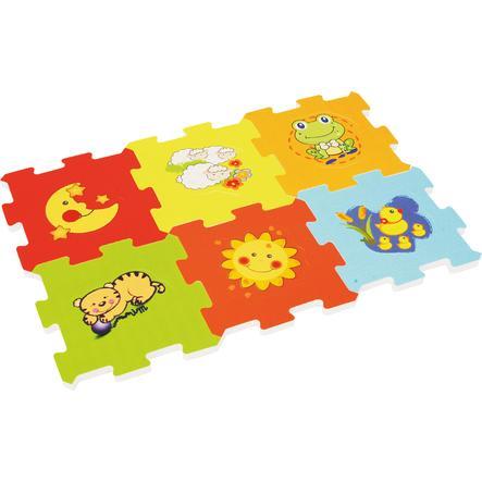 bieco Tapis puzzle Animaux