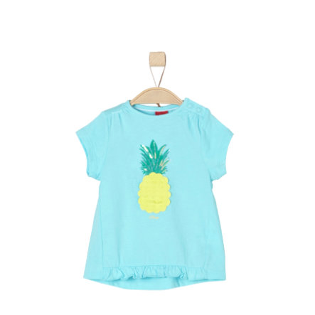 s.Oliver Girls T-Shirt light blue