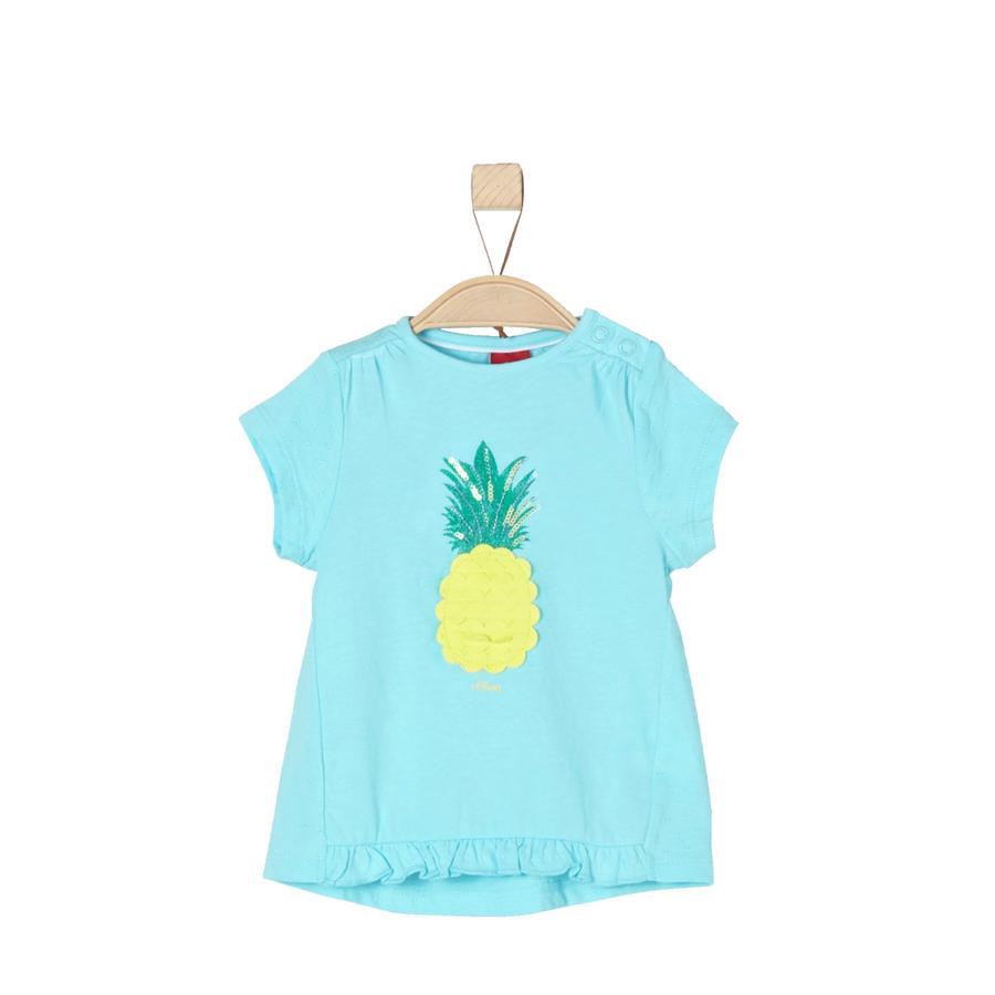 s.Oliver Girls T-Shirt light blue