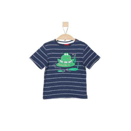 s.Oliver Boys T-Shirt dark blue stripes