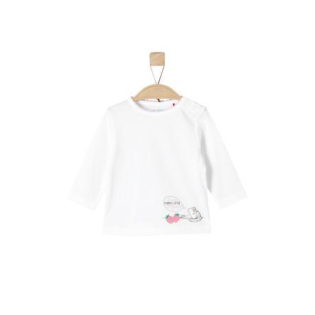 s.Oliver Girls Langarmshirt white