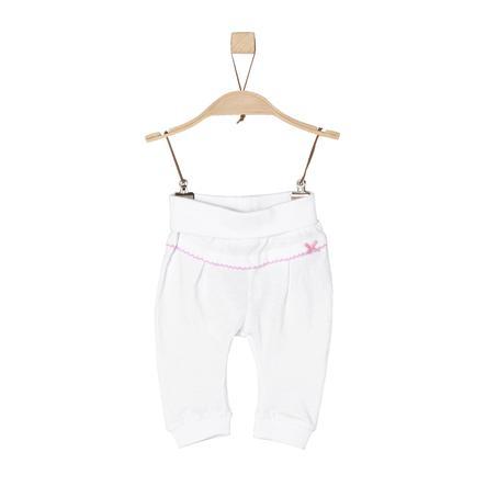 s.Oliver Girl Pantaloni s bianco