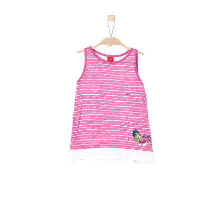 s.Oliver Girl s Top roze aop