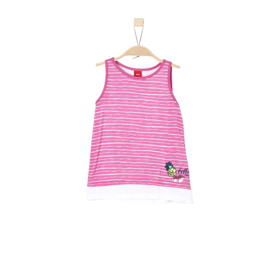 s.Oliver Girl s Top pink aop