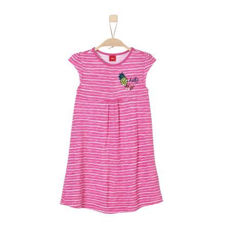 s.Oliver Girls Kleid pink aop