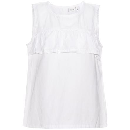 name it Girl s T-Shirt Gatty blanc brillant