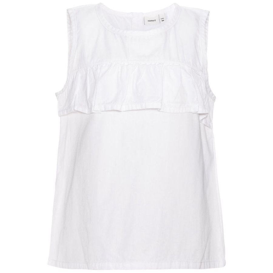 name it Girls T-Shirt Gatty bright white