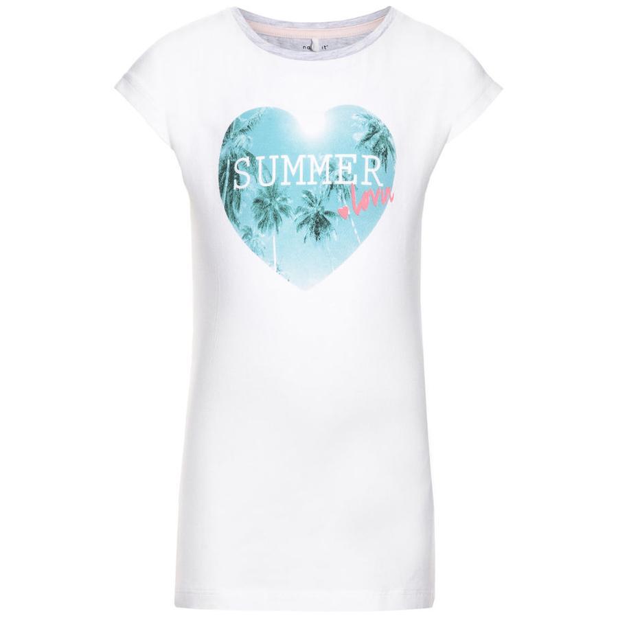 name it Girl s T-Shirt Gunhild blanc vif