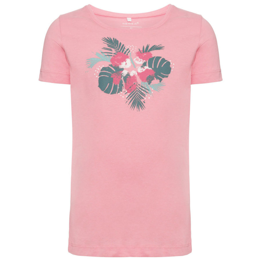 name it Girls T-Shirt Veengo flamingo pink