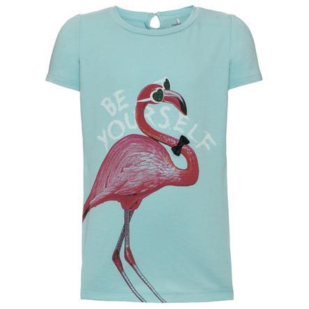 name it Girl s T-Shirt Geri aqua haze