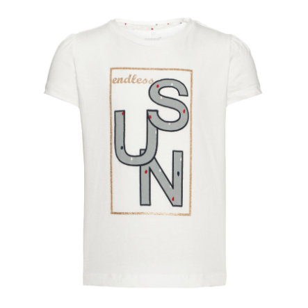 name it Girls T-Shirt Gunnva bright white