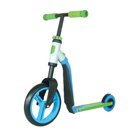 AUTENTISK SPORTS Scoot & Ride Highwaybuddy, blå / grøn