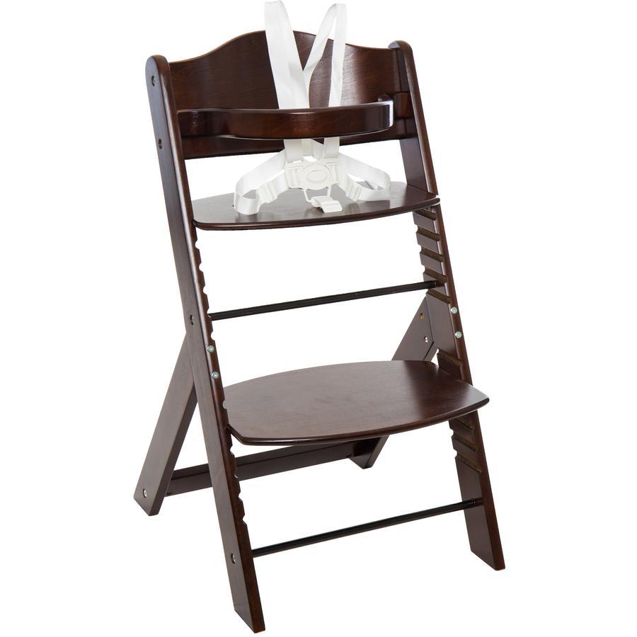FILLIKID Jídelní židlička MAX ořech