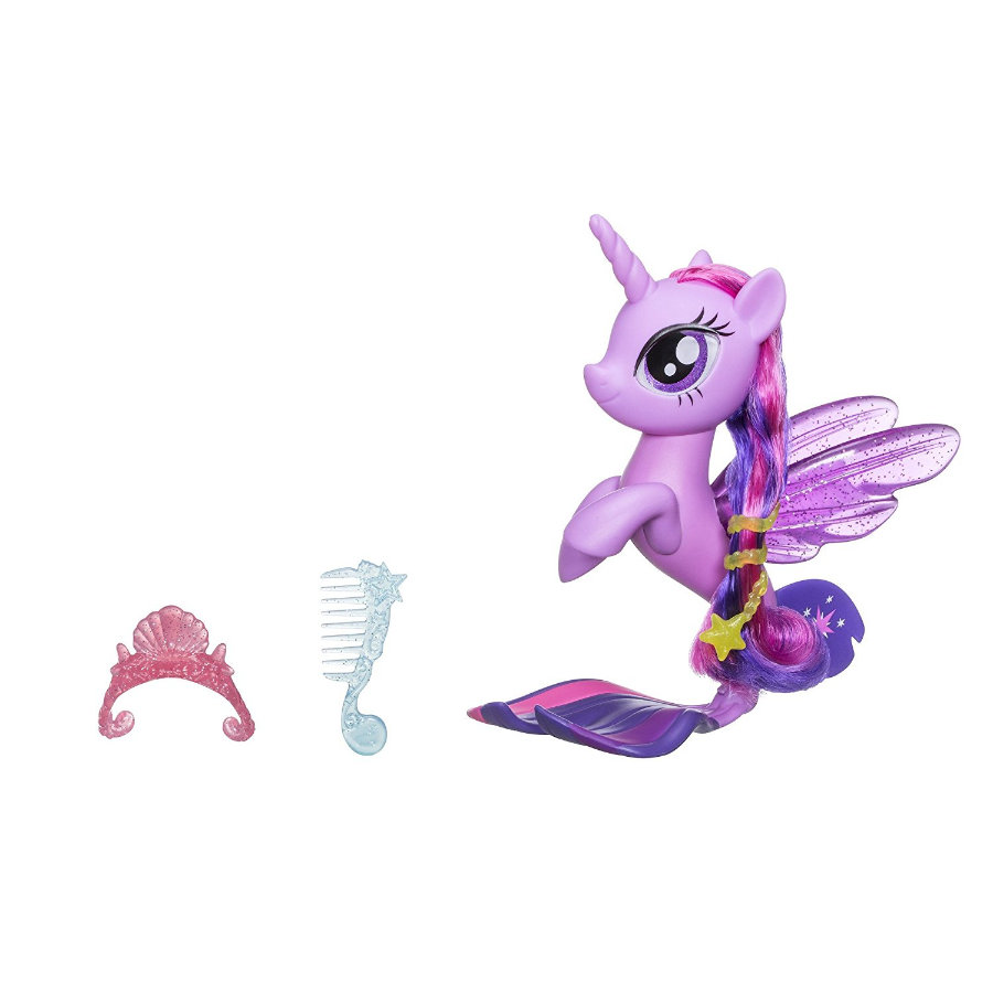 Hasbro My little Pony Movie - Glitter & Stile Seepony, Twilight Sparkle