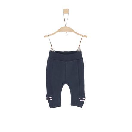 s.Oliver Girl s Pantalon de survêtement bleu foncé