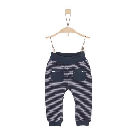 s.Oliver Girl s pantaloni da tuta a righe blu scuro a righe blu scuro