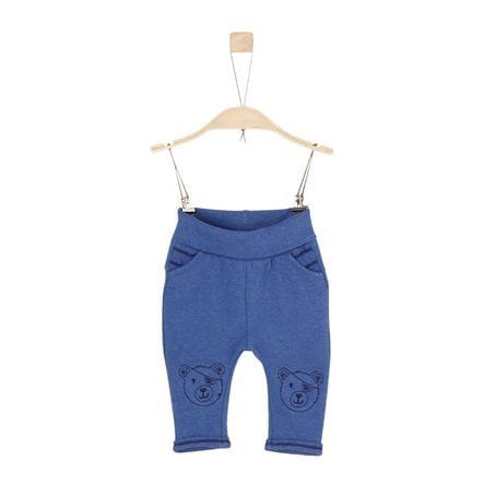 s.Oliver Boys Pantalone felpa blu melange