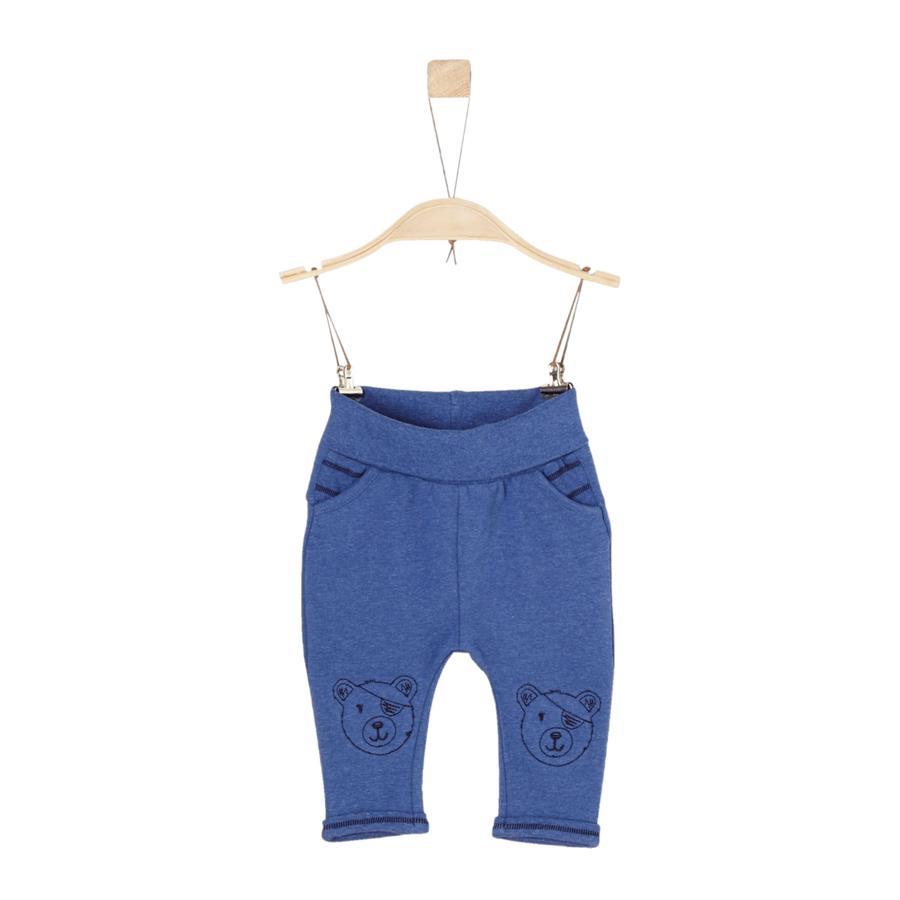 s.Oliver Boys Pantalon de survêtement bleu melange