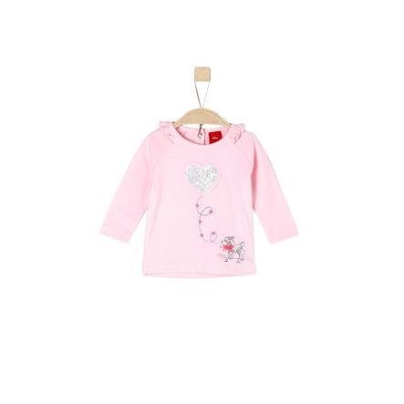 s.Oliver Girl s Camicia manica lunga rosa chiaro