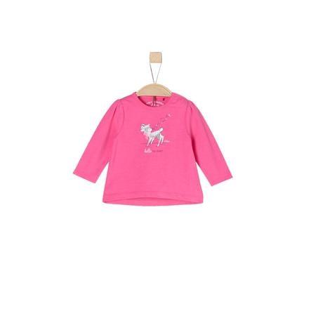 s.Oliver Girl s camisa de manga larga rosa