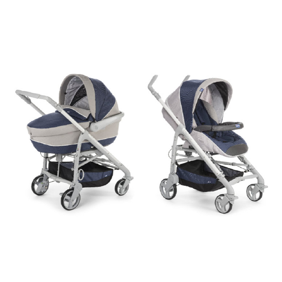 chicco Duo System Love Motion Blue Passion