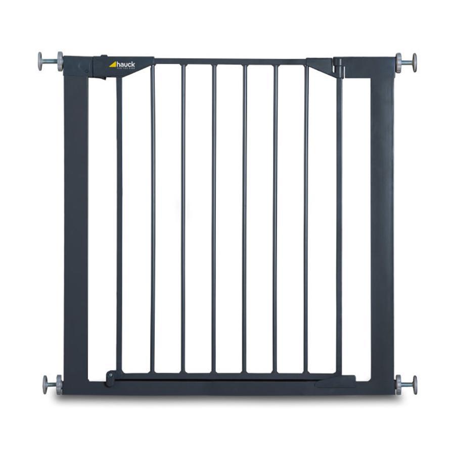 hauck Puerta de seguridad Stop n Safe color carbón