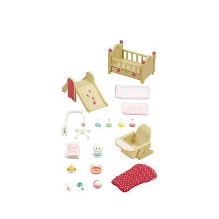 sylvanian families m bel sets babyzimmer set. Black Bedroom Furniture Sets. Home Design Ideas