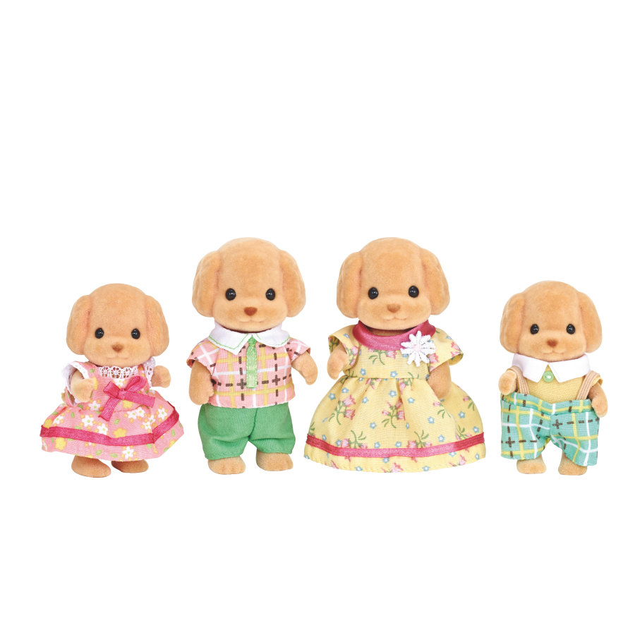 Sylvanian Families® Familien - Toy-Pudel: Familie Wuschl