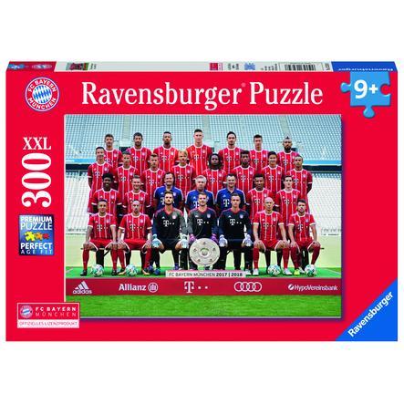 Ravensburger Puzzle XXL 300 kusů - sezóna FC Bayern 2017/18