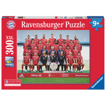 Ravensburger Puzzle XXL 300 Teile - FC Bayern Saison 2017/18